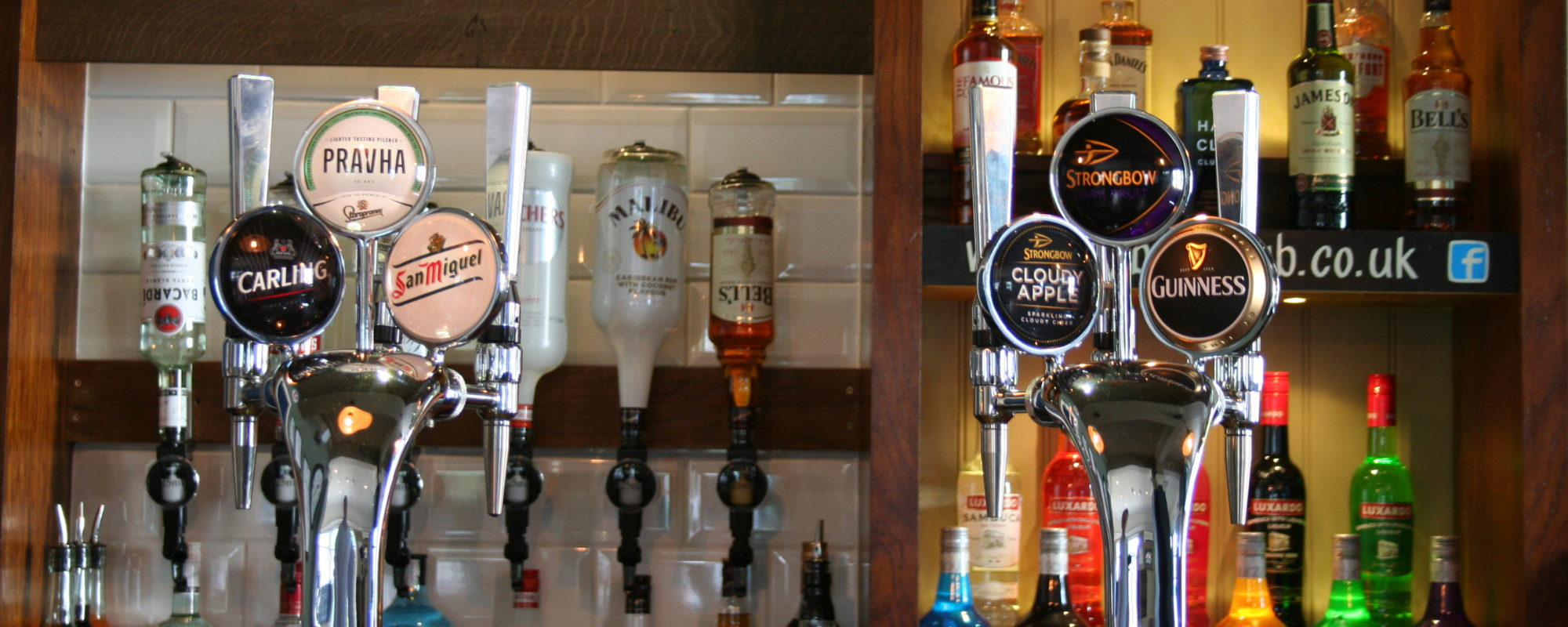 Handcrafted beers