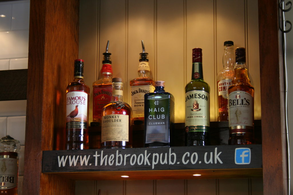 Brook Alcohol selection