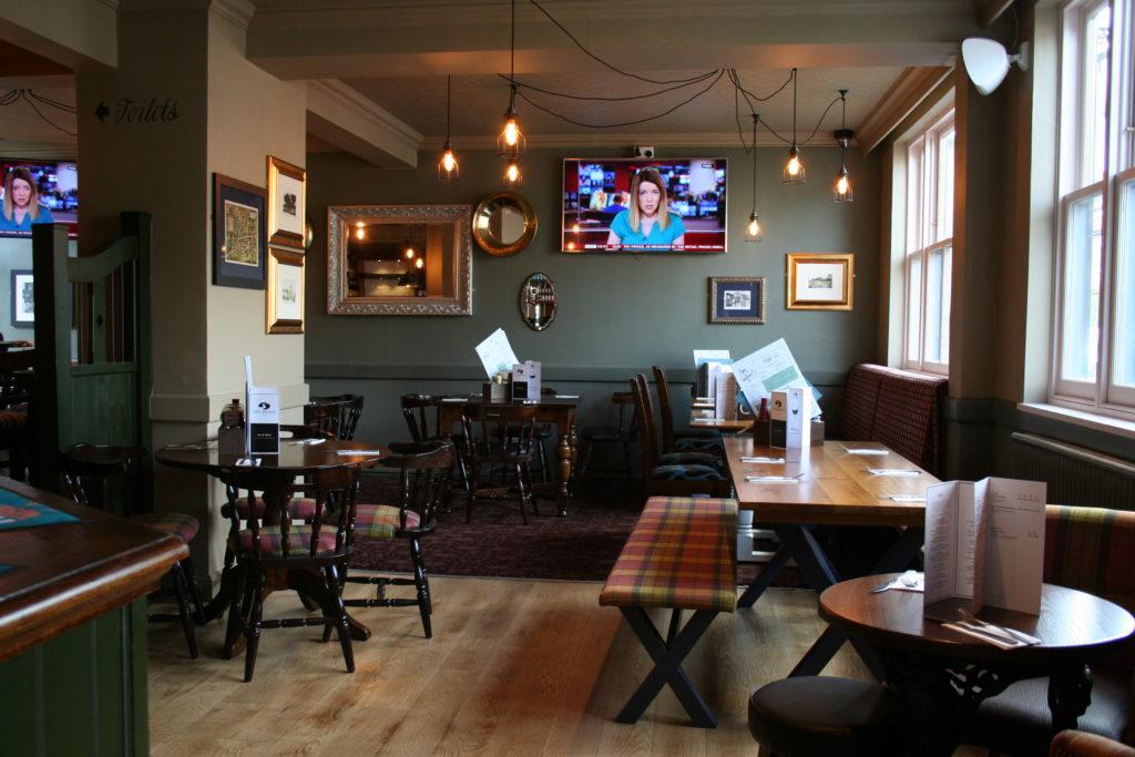 Brook pub inside view