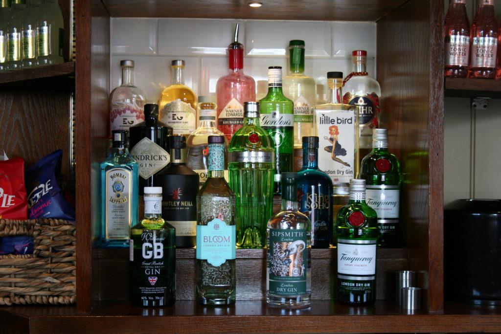Alcohol choices